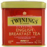 #Twinings English Breakfast Tea, Loose Tea, 3.53 Ounce Tin