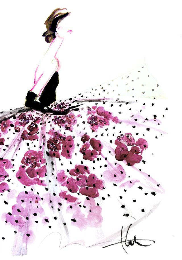flower  polka dots..