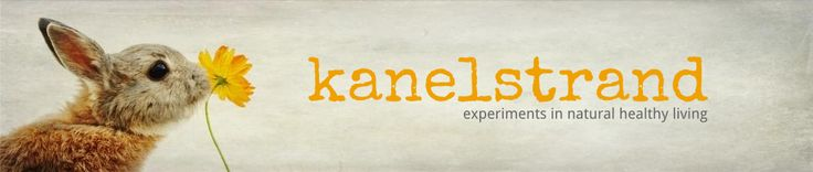 Kanelstrand, awesome blog for natural and green living