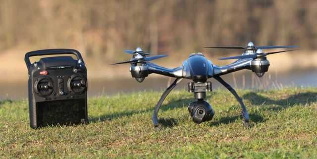 All about quadcopter drones.