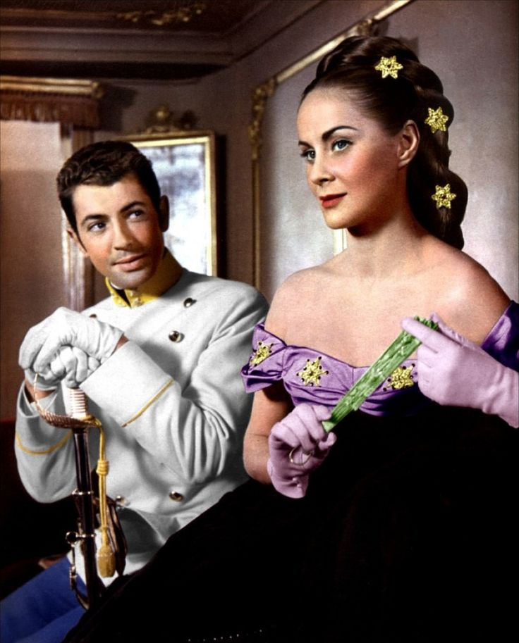 "Alida Valli, Farley Granger in ""Senso"" (1954). Country: Italy. Director: Luchino Visconti."