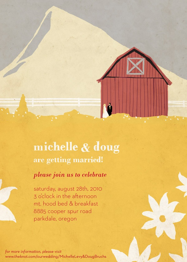 address wedding invitation unmarried couple%0A Barn wedding  weddings  invitations  stationary