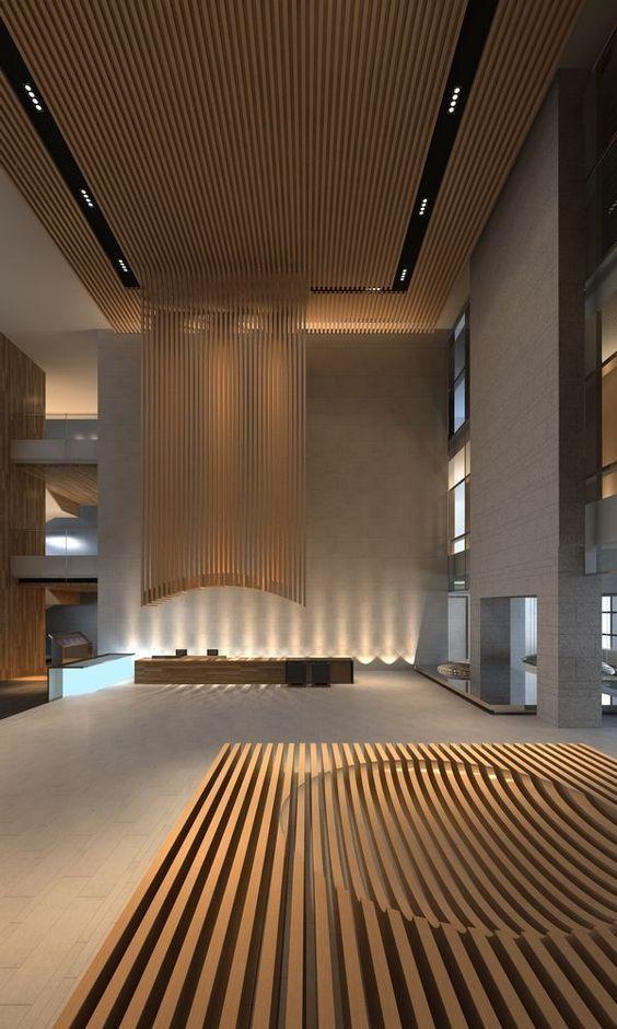 100 Modern Reception Desks Design Inspiration