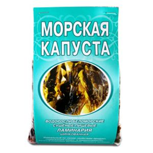 Ламинария пищевая шинкованная (Морская капуста)
