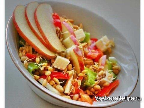 Салат из сладкого перца и пророщенной пшеницы   http://vseizumitelno.ru/salaty/ovoshnye-salaty/285-salat-iz-sladkogo-perca-i-proroschennoy-pshenicy.html