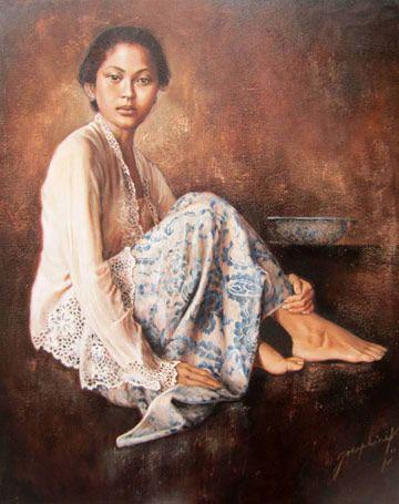 Josephine Linggar - Wanita Duduk