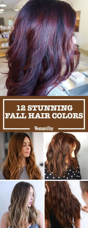 These stunning hair colors are a must-try for fall. Change your hair like the season with cinnamon swirl or rose gold for a beautiful hair color that screams fall!