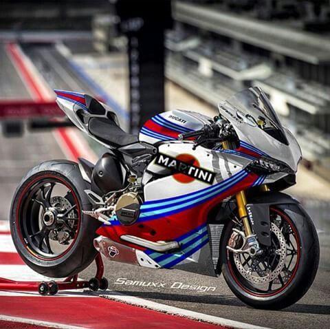 Ducati 1199 Panigale in Martini colours