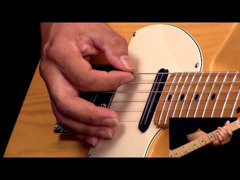 Rockabilly Guitar Lesson In The Style of Cliff Gallup - YouTube