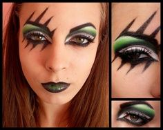 roller derby makeup | ... to do this with airbrush makeup! would be awesome halloween makeup