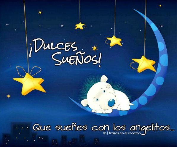 ¡Dulces Sueños! Que sueñes con los angelitos... @trazosenelcorazon