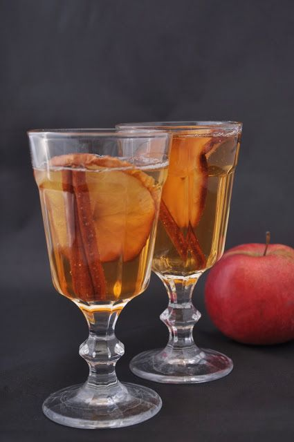 AZgotuj!: Galaretka z soku jabłkowego z pieczonym jabłkiem - lekkie święta