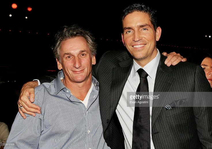 Actors Matt Craven and Jim Caviezel (R) attend the after party for Touchstone Pictures World Premiere of ''Deja Vu'' at the Roseland Ballroom on November 20, 2006 in New York City.