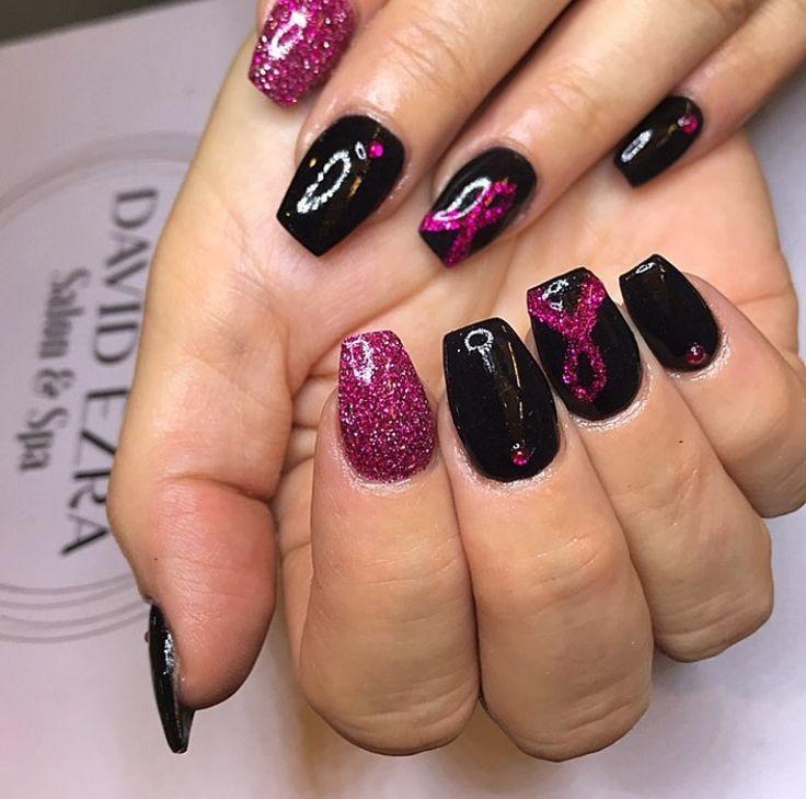 Vielen Dank, Stephanie, im David Ezra Salon in Wayne, New Jersey.   – nail designs