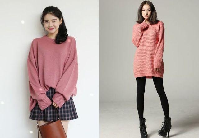 8 Ide style korea untuk wanita yang terlihat lebih lucu - collection news