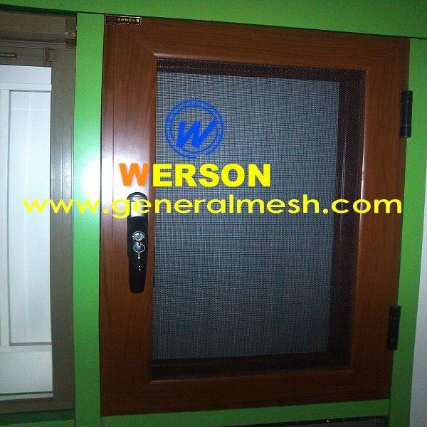 316 Invisi Gard Stainless Steel Mesh Screen For Security Door And Window China Hebei General Metal Netting Co Ltd Factory 11mesh Metal Net