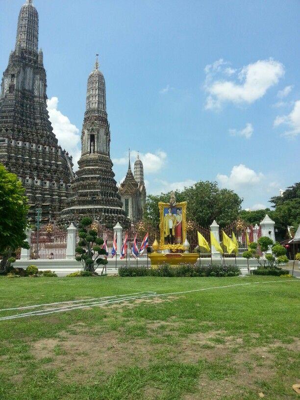 During thai trip