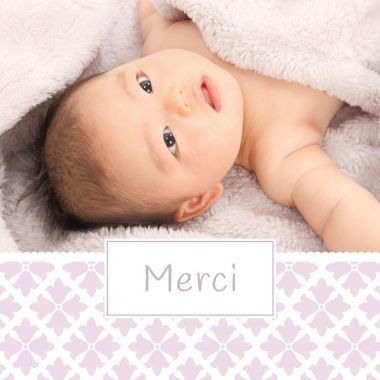 Remerciez vos proches après la naissance de votre petite fille.  Ce joli modèle fleuri saura les ravir : http://www.lips.fr/impression/carte-remerciement-naissance/format-130-x-130-2p-modele.html?modele_id=340