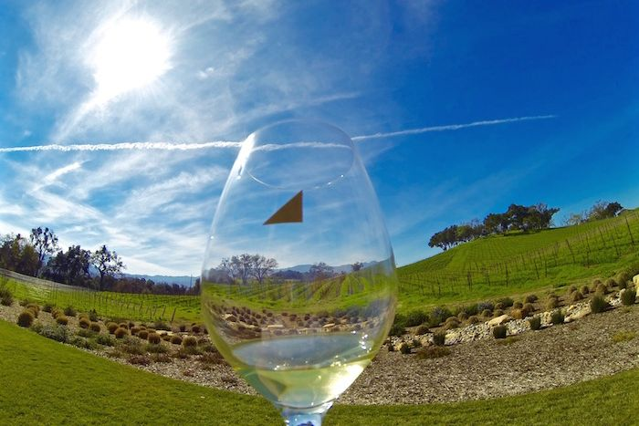 Wine tasting in Paso Robles California at Justin Winery