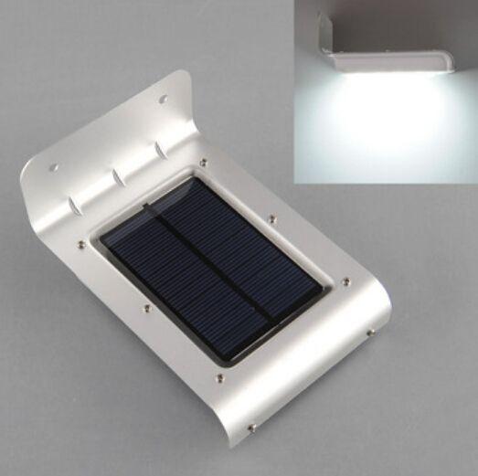 Солнечная открытый настенный светильник солнечной энергии сада 16 светод. пир тела датчик движения солнечной из светодиодов прожекторы солнечной из светодиодов уличные фонари