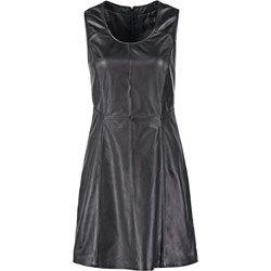 Oakwood Sukienka letnia black zalando szary bez wzorów/nadruków
