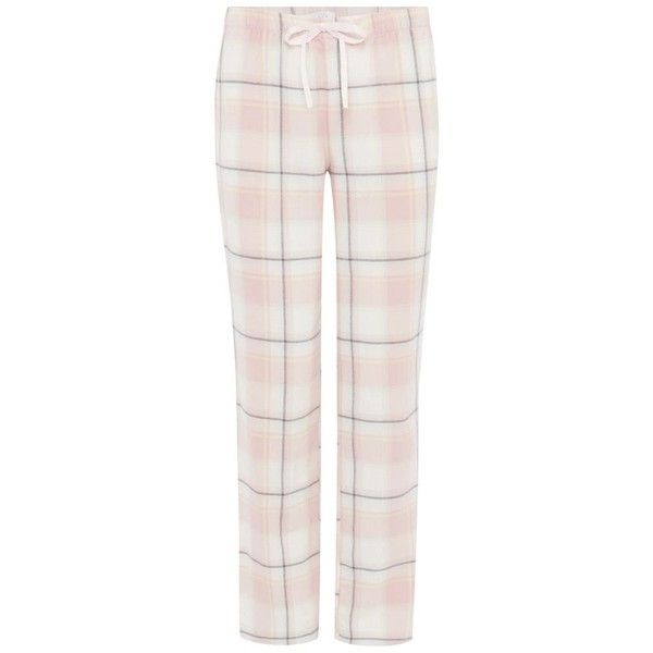 Lounge Sleep Pink check print cotton pyjama bottoms (995 RUB) ❤ liked on Polyvore featuring intimates, sleepwear, pajamas, cotton pyjamas, cotton pajamas, cotton pajama bottoms, cotton sleepwear and long pajamas