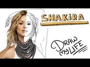SHAKIRA | Draw My Life En Español - YouTube