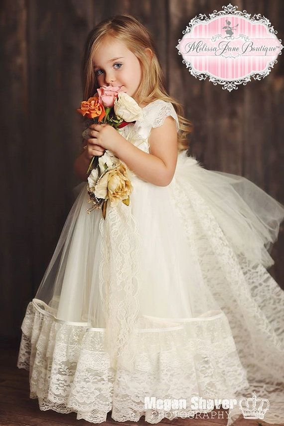Flower Girl Dress Available at Melissa Jane Boutique on Etsy
