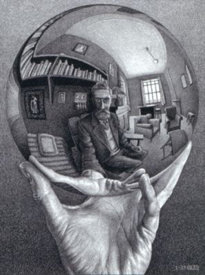 Escher's Self Portrait - 1000pc Jigsaw Puzzle By Buffalo Games