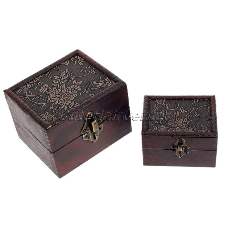 Decorative Boxes That Lock : New pcs organizer storage case mini container decorative