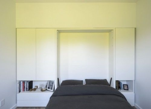 A small apartment designed by David Bucovy | fold out bed