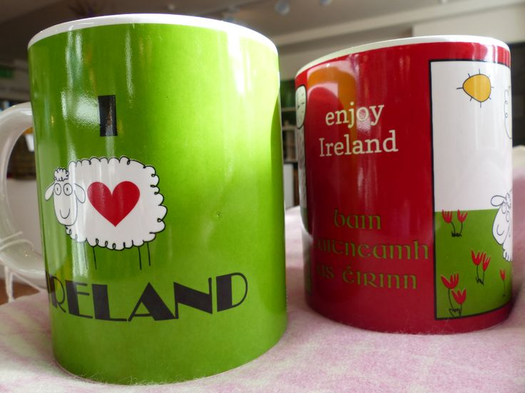 if you are one of those 'special mug' people, we have bright and cheerful and charmingly Irish for you