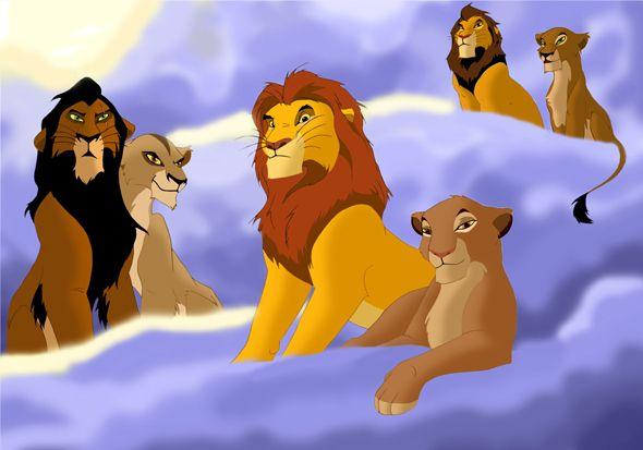 Ahadi/Uru, Mufasa/Sarabi, & Scar/Zira | Cartoons ...