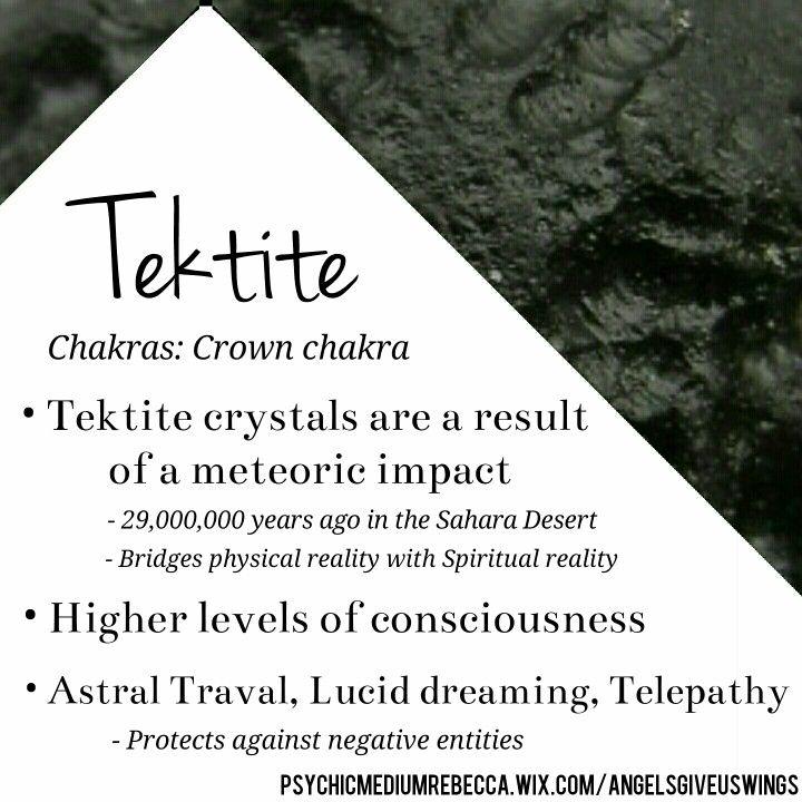 Tektite crystal meaning