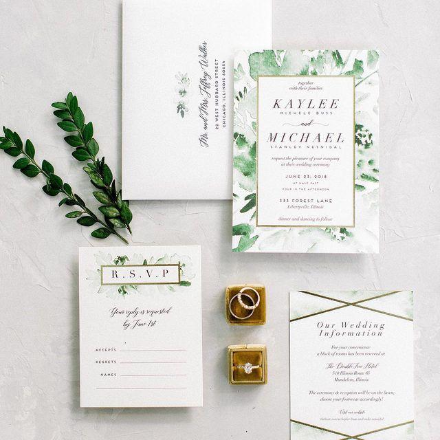 Minted Weddings Minted Wedding Invitation Design Martha Weddings Mint Wedding