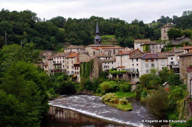 Regards et Vie d'Auvergne.: Visitons l'Auvergne: Olliergues, Puy-de-Dômes, Auv...