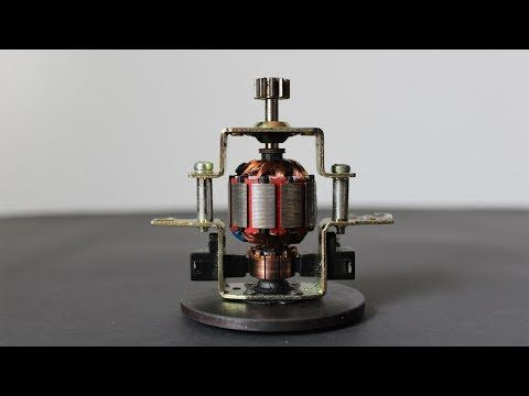 Free Energy High Brushless Motor With Fidget Spinner Copper Wire 2018 Diy Project Exhibition You