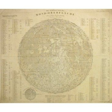 Check out this item at One Kings Lane! Lunar Surface, 1841