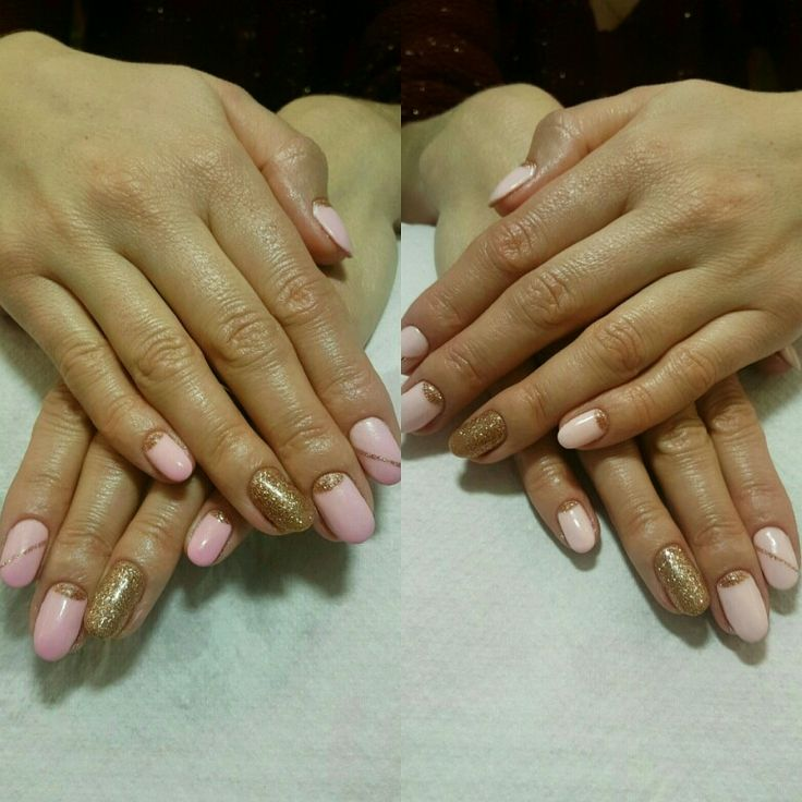 Hot and cold gellack  nails