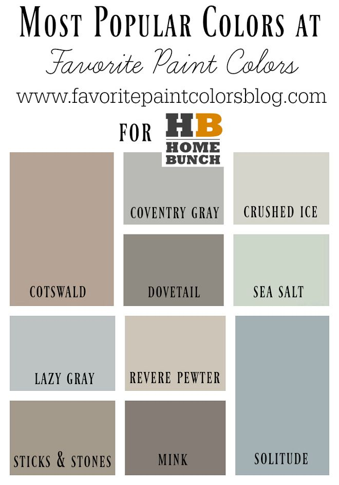 Most Popular Paint Colors Delectable Best 25 Popular Paint Colors Ideas On Pinterest  Better Homes Decorating Inspiration