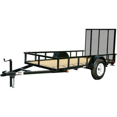 Carry On Trailer 5 Ft W X 10 Ft L Wood Floor Trailer