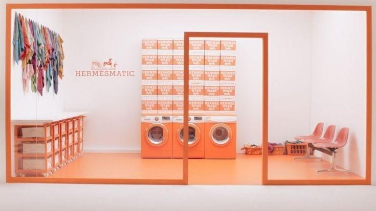 #Hermès crée des mini-laveries pour rénover et relancer son carré de soie #luxe http://sco.lt/...