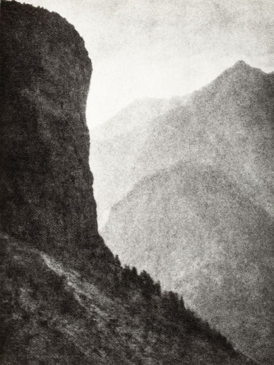 Gorge Of Gondo | LACMA Collections