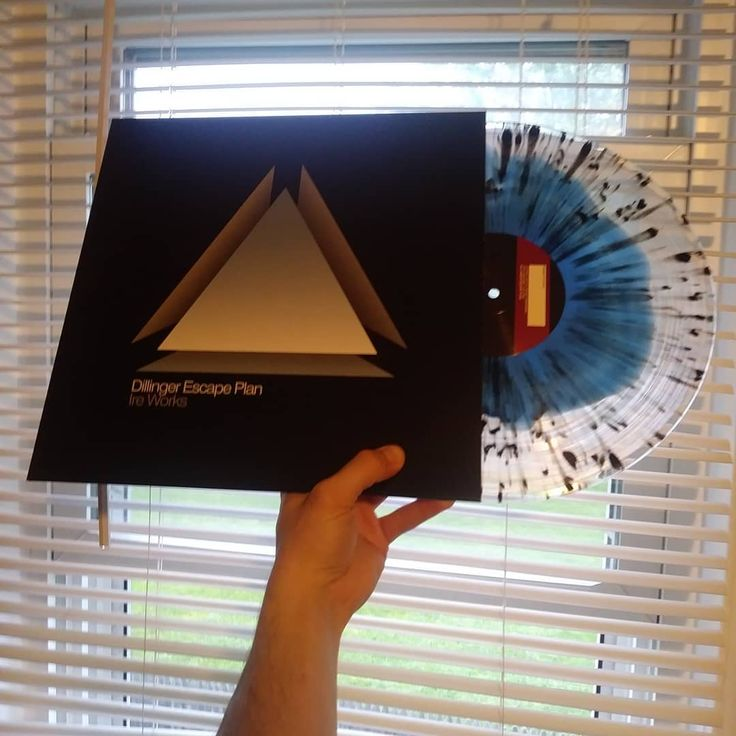 Dillinger Escape Plan Ire Works Blue Clear W Black Splatter Limited To 300 Pressed Dillingerescapeplan Ireworks Mathcor Escape Plan Vinyl Records Vinyl