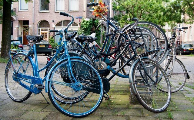 Amsterdam - a cyclist's paradise