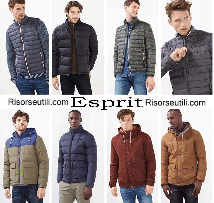 Jackets Esprit fall winter 2016 2017 menswear