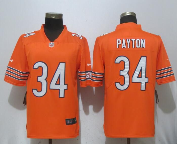 77a70018 ... aliexpress nike bears 34 walter payton orange vapor untouchable limited  jersey 55861 e4410