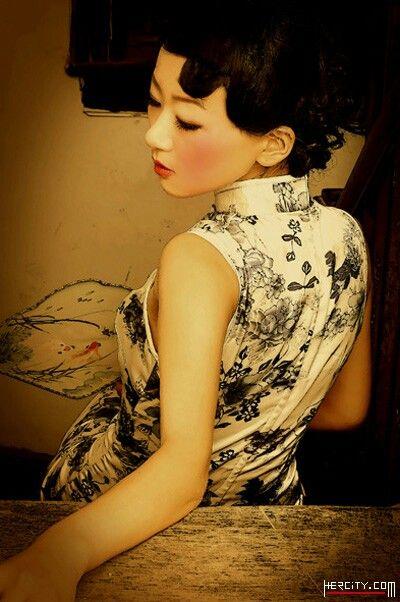 Blue & White China Qipao