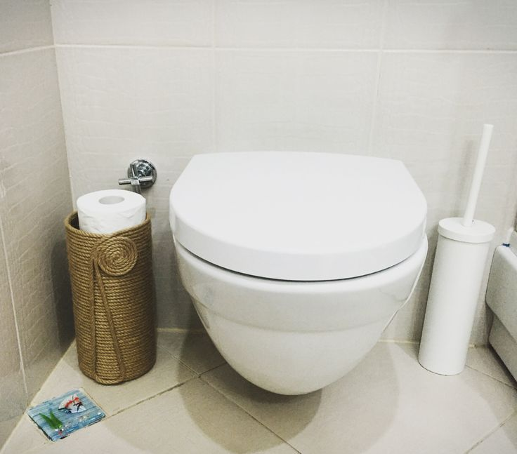 Halat ipten tuvalet kağıtlığı