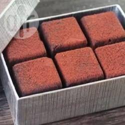 Fudge de chocolate vegano @ allrecipes.com.br